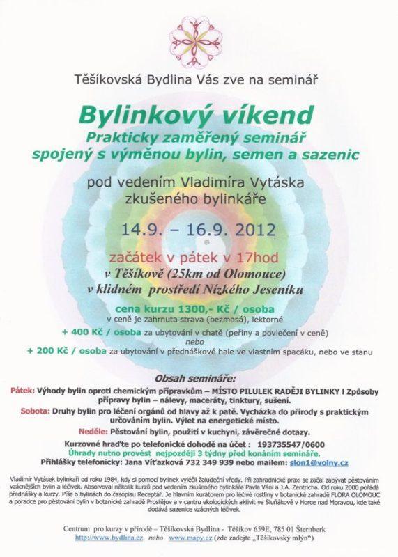 Bylinkový víkend 149 - 169 2012
