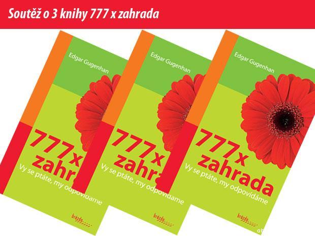 777 x zahrada - soutěž